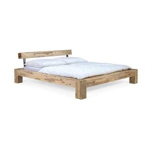 Łóżko z drewna akacjowego SOB Seba, 180x200cm
