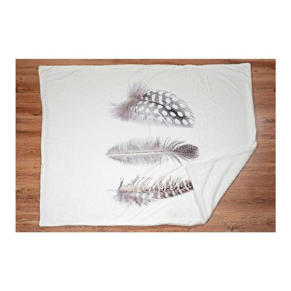 Koc Feather, 180x130 cm