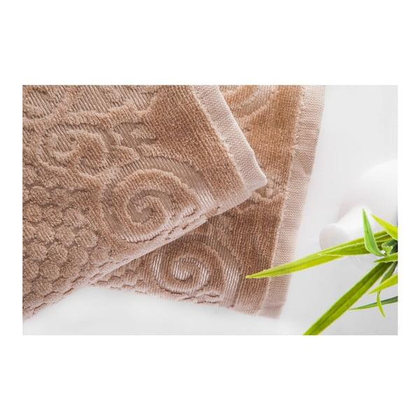 Zestaw 2 ręczników Acustic Mink, 50x90 cm