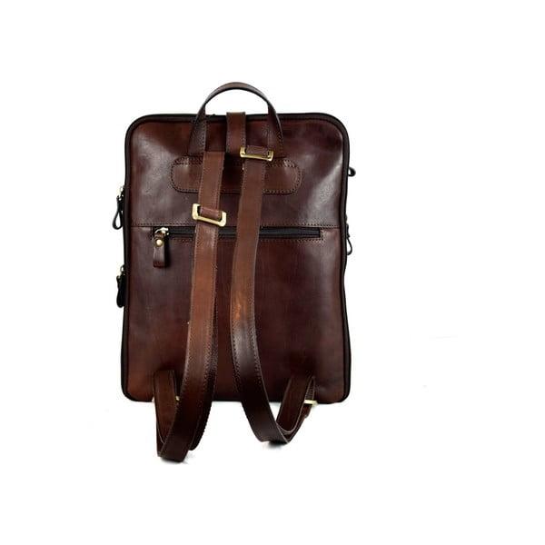 Skórzany plecak Santo Croce 107618 Dark Brown