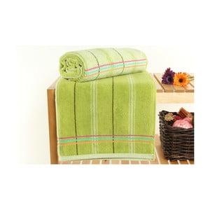 Zestaw 2 ręczników Gary Sap Green, 70x140 cm