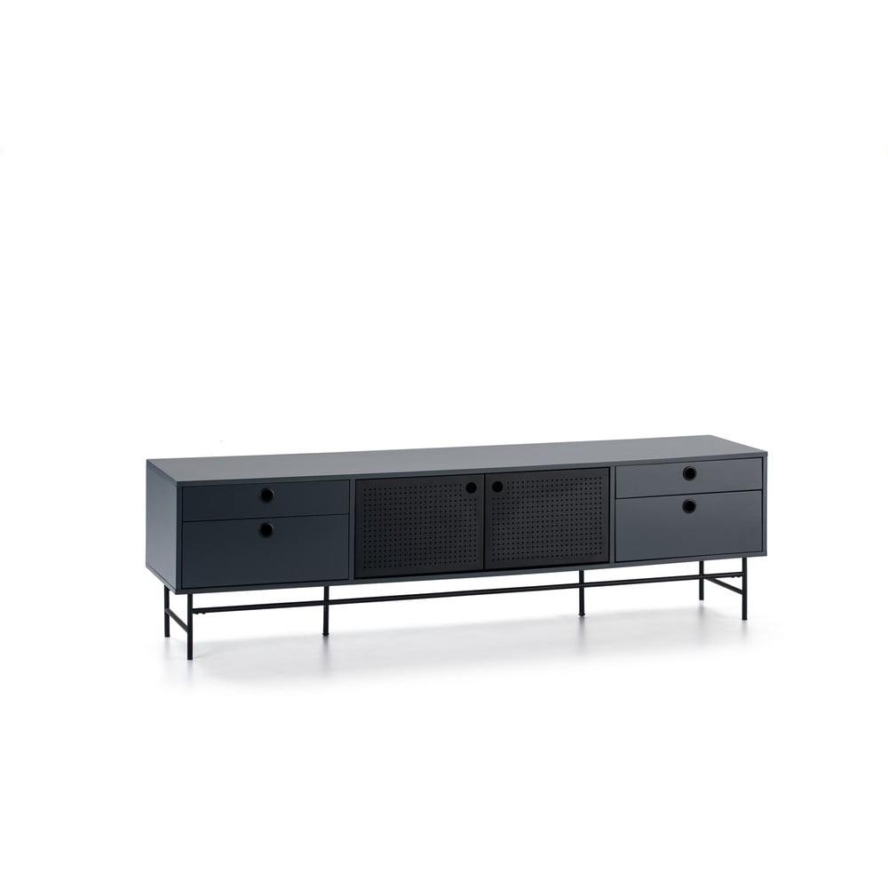 Czarno-niebieska szafka pod TV Teulat Punto