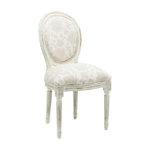 Białe krzesło do jadalni Kare Design Louis Romance