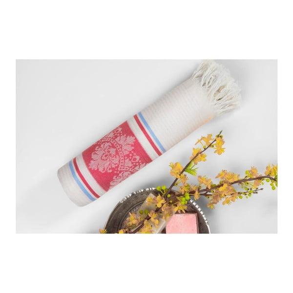 Ręcznik hammam Loincloth Hatice Pink, 80x170 cm