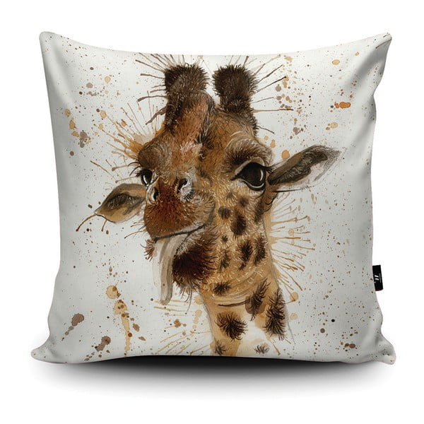 Poduszka Wraptious Splatter Giraffe