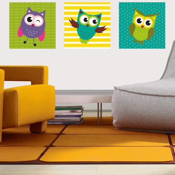 Naklejki Funny Owls