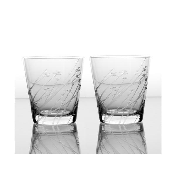 Zestaw 2 szklanek Len 330 ml