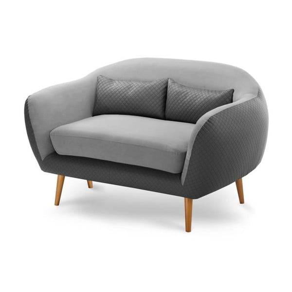Sofa dwuosobowa Meteore Grey/Light Grey