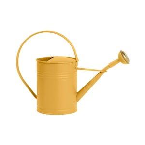 Żółta konewka Butlers Zinc, 1l