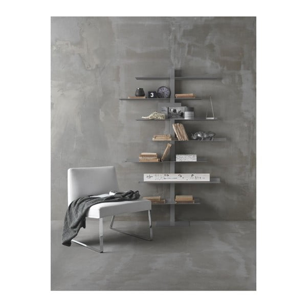 Biblioteczka Apollo Grey