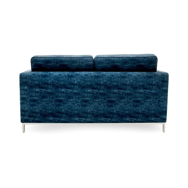 Sofa dwuosobowa Ben, ciemnonbiebieska