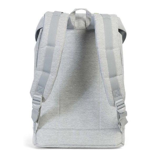 Jasnoszary plecak z szarymi paskami Herschel Retreat