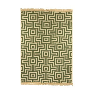 Zielony dywan Ya Rugs Kare, 80x150cm