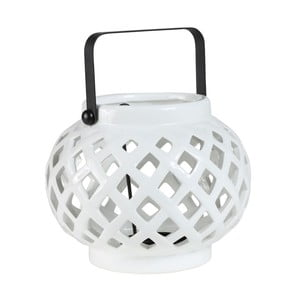 Lampion Crois White, 16x16x12 cm