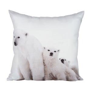 Poduszka Bear White, 45x45 cm