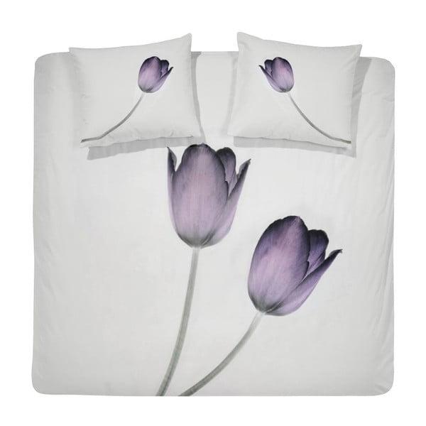 Pościel Tulipa Purple, 200x200 cm