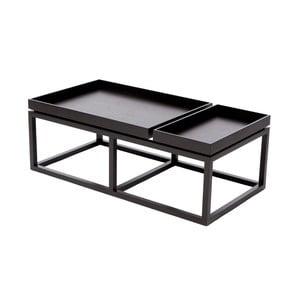 Czarny stolik NORR11 Tray