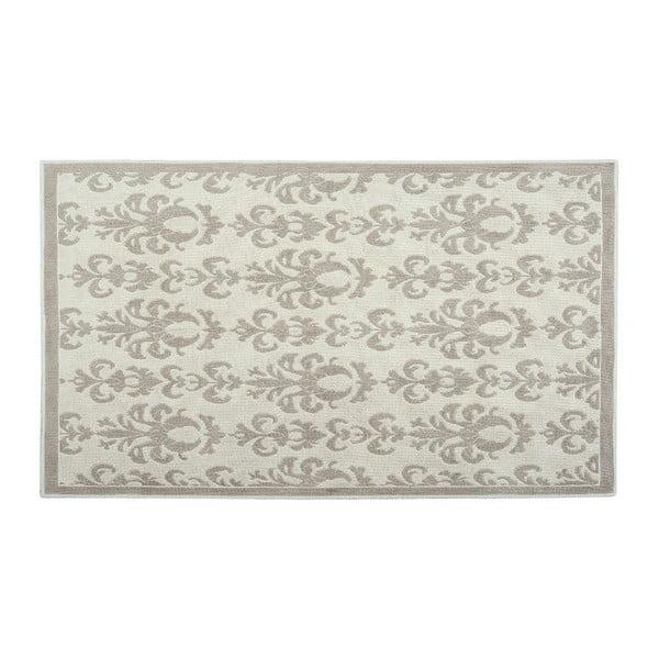 Dywan bawełniany Baroco 80x150 cm, kremowy