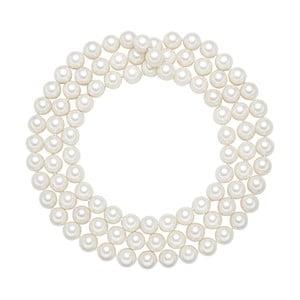 Naszyjnik z białych pereł ⌀ 12 mm Perldesse Muschel, długość 120 cm