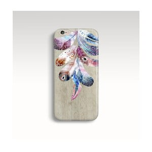 Etui na telefon Wood Feathers na iPhone 6/6S