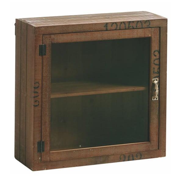 Szafka ze szklanymi drzwiczkami Antique Look, 50x50 cm