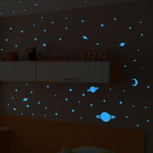 Naklejka świecąca Fanastick Stars and Planets