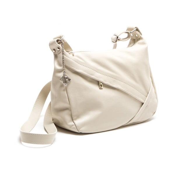 Skórzana torebka Isabella Rhea 2133 Beige