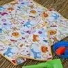 Dziecięcy kocyk plażowy Cream, 65x90 cm