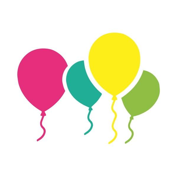 Naklejka ścienna Colorful Baloons