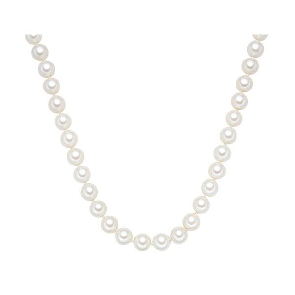 Naszyjnik z białych pereł ⌀ 12 mm Perldesse Muschel, długość 60 cm