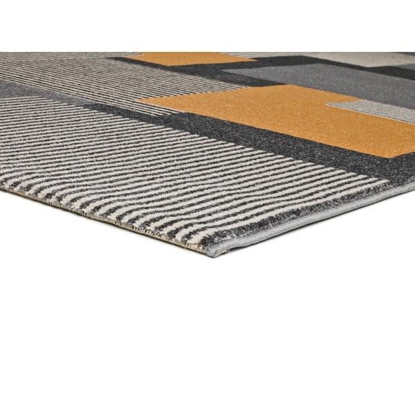 Szary dywan Universal Leo Square, 140x200 cm