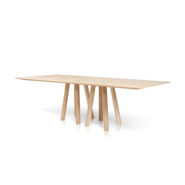 Stół do jadalni z litego drewna Mos-i-ko AL2, 180cm