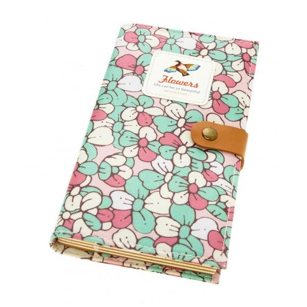 Notes Bird, zielono-różowy