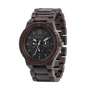 Drewniany zegarek Kappa Black