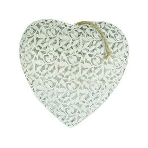 Dekoracja wisząca Antic Line Heart, 36x36 cm