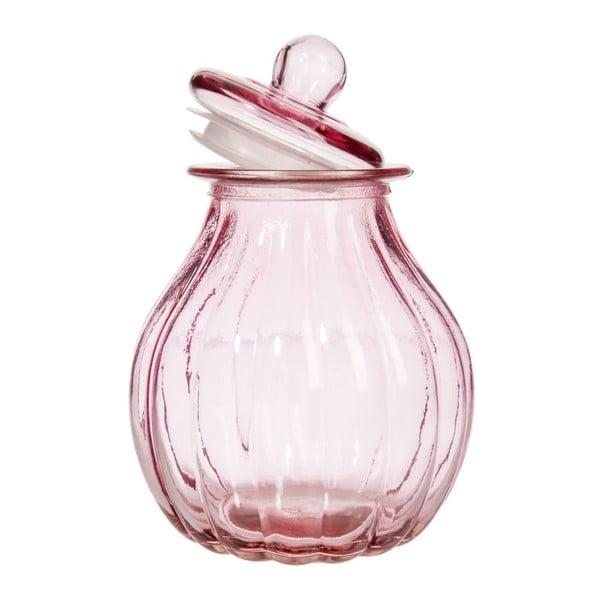 Pojemnik Pink Glass, 19 x 26 cm