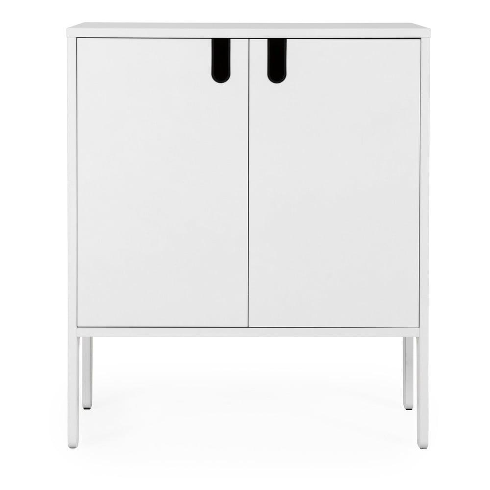 Biała szafka Tenzo Uno, szer. 80 cm