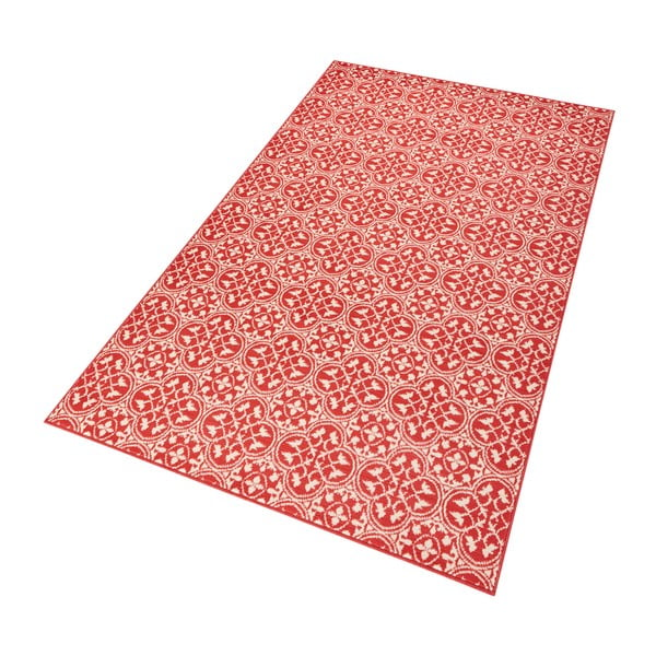 Czerwony dywan Hanse Home Gloria Pattern, 80x150 cm