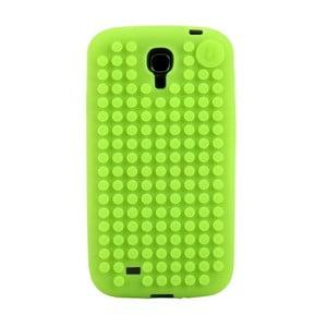 Pikselowe etui na Samsung S4, intensywnie zielone