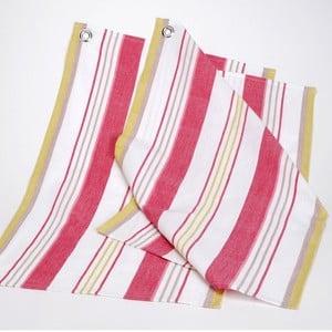 Zestaw ścierek kuchennych Red Yellow Stripes, 50x70 cm, 2 szt.