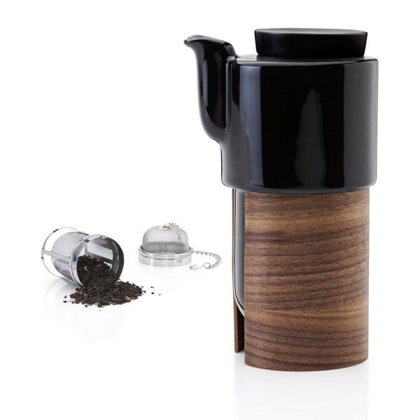 Dzbanek na herbatę Warm Black Wallnut, 60 cl