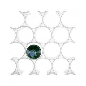 Biały stojak na wino Kartel Infinity