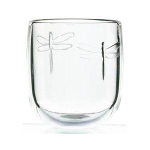 Szklany pucharek La Rochère Libellules, 280 ml