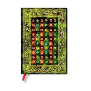 Notes w twardej oprawie Paperblanks Verde, 13x18cm