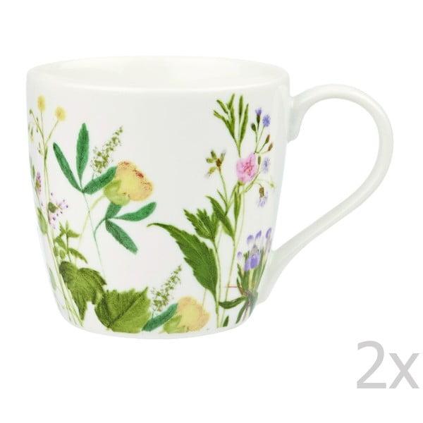 Zestaw 2 kubków Himalyan Flowers, 380 ml