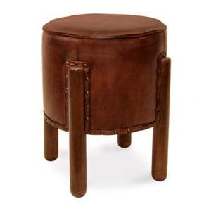 Skórzany stołek Moycor Ronda