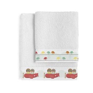 Zestaw 2 ręczników Happynois Learning to Fly