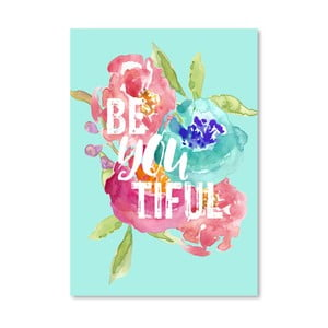 Plakat Americanflat Be You, 42x30 cm