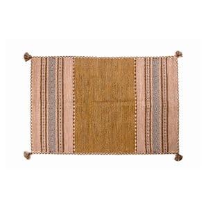 Dywan ręcznie tkany Kilim Tribal 107, 90x60 cm