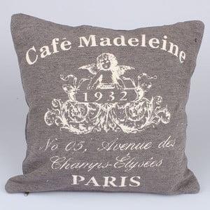 Poszewka na poduszkę Café Paris, beżowa